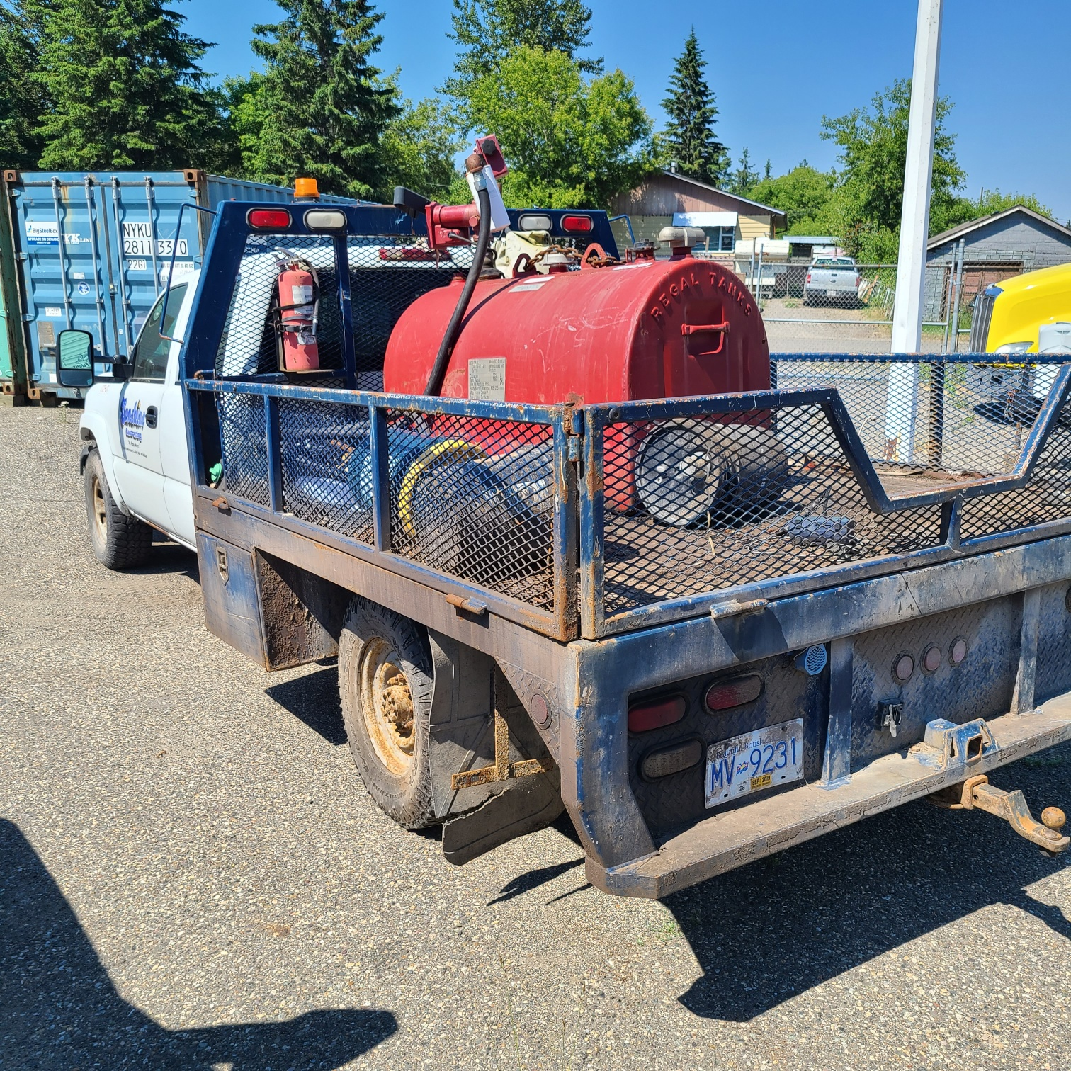 2007 Chevrolet 3500 LS B-PG-0475 Located in Prince George