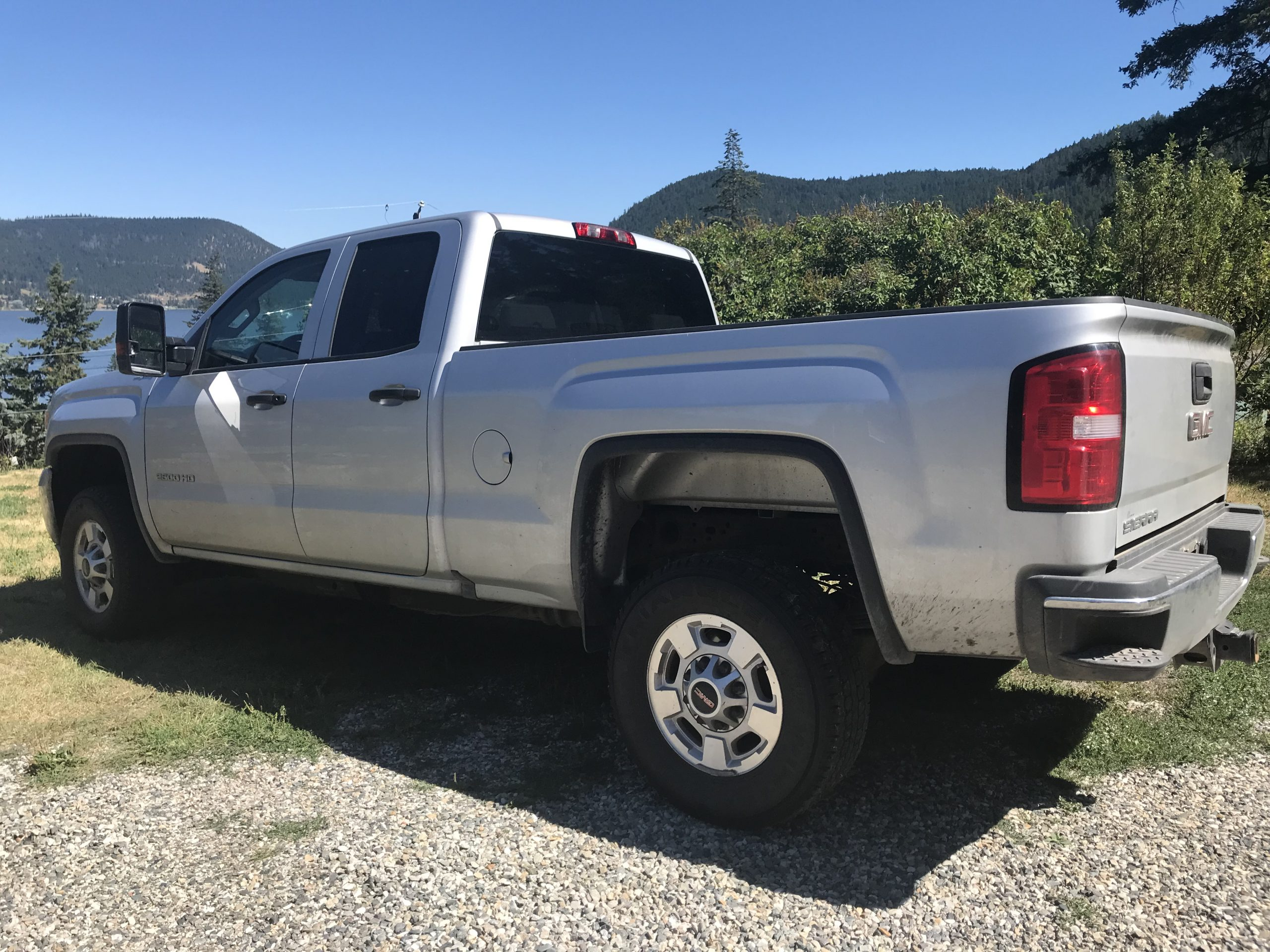 2018 CMC Sierra 2500 HD 4×4 B-WL-0060 Re-Listed Located in Prince George